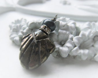 Gemtsone Pendant Pyrite Pearl Pendant Gold Stone Pendant Item No. 1991 7109
