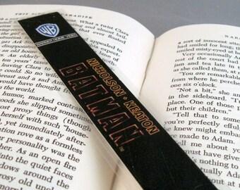Batman Recycled VHS Bookmark