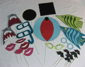 SHARK birthday Photo props READY to ship no assembly