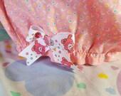 Confetti bloomers, fairy kei clothing sweet lolita rave shorts size XL extra large