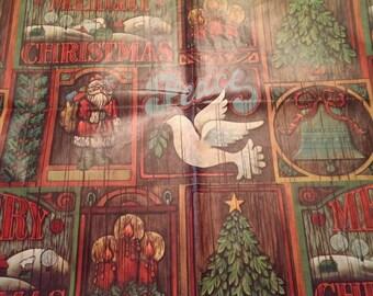Vintage Hallmark Christmas Gift  Wrapping Paper