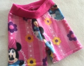 Minnie Mouse Anti Pill Fleece Shorties --- Diaper Cover
