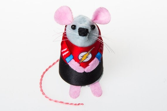 Sheldon Cooper The Big Bang Theory Mouse ornament gift for boyfriend husband men man geek nerd physicist mice rat rodent hamster TBBT fan