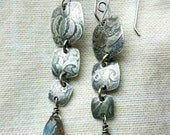 RESERVED for Cindy sterling silver and labradorite earrings, custom order