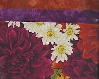 Dahlia Fabric Bundle w\/ Hand Dyed Fabric