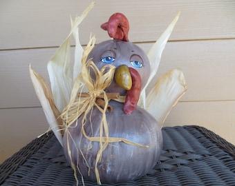 Gourdeous Turkey Little Primitive Gourd