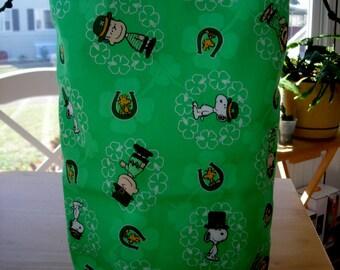 Knitting Project Bag, Tall size, KIP bag, craft bag, spindle bag, knitting supplies,project bag,sock knitting,crochet project bag,hand made