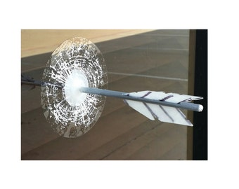 Hunger Games Arrow Splat - Broken Glass