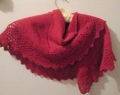 Velvet Brick Merino Wool Scarf