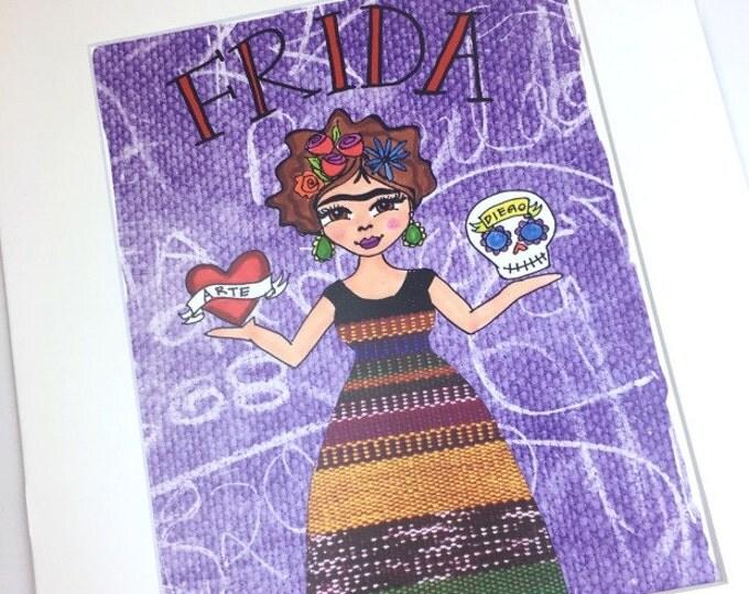 Frida Balance Print 8x10