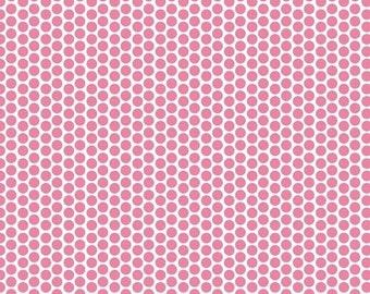 30% OFF Honeycomb Dot Hot Pink - 1/2 Yard