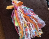 Jumbo Cotton Candy Poufy Yarn Tassel