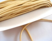 BOGO - 30ft Natural Cording Waxed Cotton 2mm - 30 ft. - STR9020CD-N30 - Buy 1, Get 1 Free - No coupon required