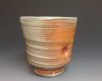 High Ball.  Yunomi. Soda Fired Stoneware Pottery.