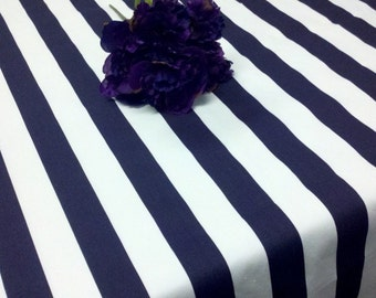 STRIPED TABLECLOTH COLORS  Rectangle, Stripes, Grey Blue Red Lime Yellow  Black, Navy