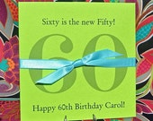 Birthday Party Favors - 60th Birthday - Adult Party Favors -60th Birthday Party Favors - 60th Birthday Decorations - Lottery Ticket Holder