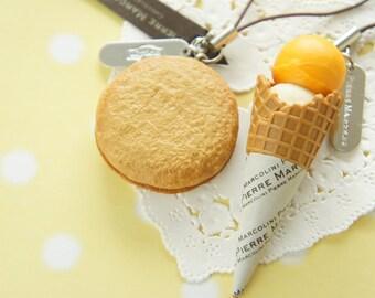 Fake Food/ Sweets Charm Pierre Marcolini Japan Limited AZ277 (((LAST)))