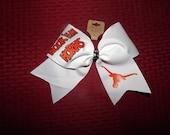 Reserved for Sharon -- Texas Longhorns Hook 'Em Horns Unversity Cheer Bows