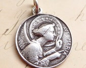 Angel Gabriel / St Louis de Montfort Medal - Patron of messengers