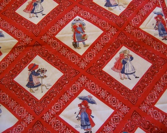 adorable holly hobbie cotton fabric