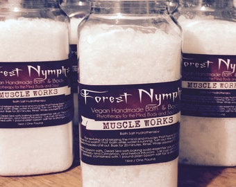 MUSCLE WORKS Therapeutic Bath Salts