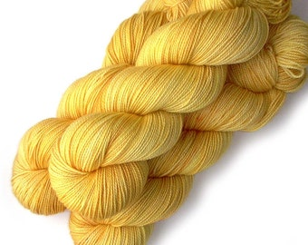 Superwash Merino and Nylon Yarn - Super Sunny, 400 yards
