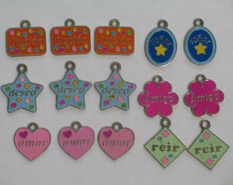 Spanish Charms for Art and Craft Projects
