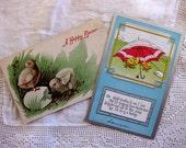 Vintage Easter Cards, Chicks, Postcards (2)
