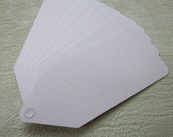 10 Pale Lilac Purple Card Tags