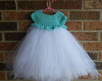 Toddler Tulle Tutu Dress, made to order