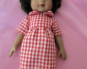 Red Little Miss Marker dress to fit 10 inch Tonner doll