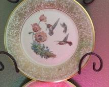 Lenox Boehm Hummingbird Plate