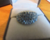 baby blue dome ring