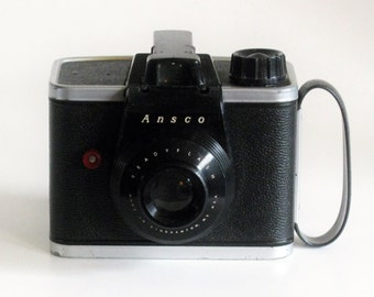 Vintage Ansco Readyflash 620 Film Camera 1950's For Display
