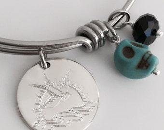 Jack Sparrow Tattoo Pirate Inspired Bracelet