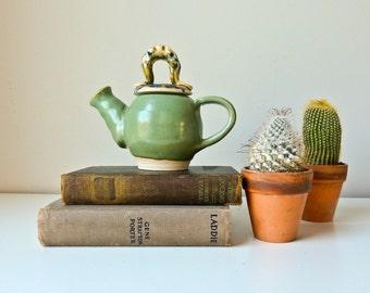 Handmade Teapot  Unique Teapot, Vase, One Cup Teapot, Tiny Vase