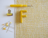Formica - screen printed fabric - metallic colours