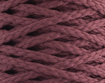 10 Yards Braided Macrame Cord - Light Rose
