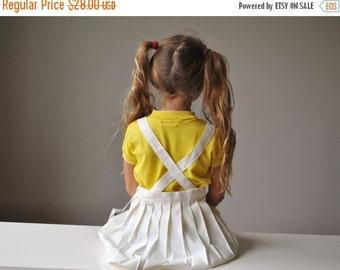 ON SALE NOS, 1950s Suspender Pleat Skirt~Size 3t/4t