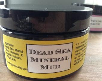 Dead Sea Mineral Mud