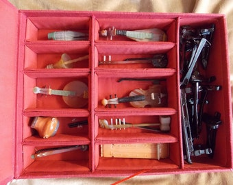 Antique Chinese Carved Miniature Musical Instruments - On Sale