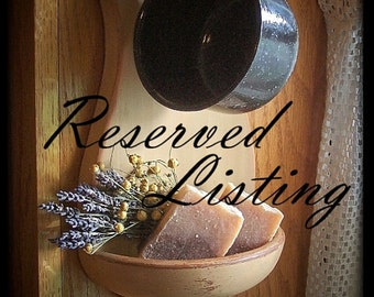 Reserved for Leanne / Shipping Primitive Home Decor Items