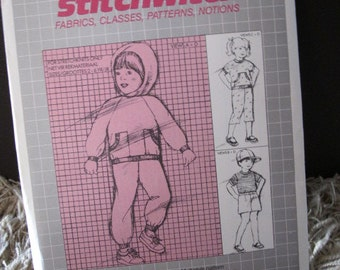 Uncut 1980s Designer Stitchwitch Pattern B007 - Childs Multistyle Pattern