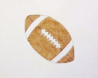 Football Sports Handpainted Needlepoint Canvas