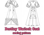 Destiny Warlock coat SEWING PATTERN