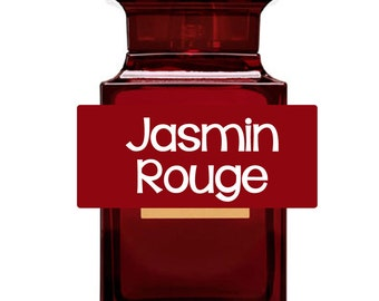 Jasmin Rouge Perfume, Perfume Spray, Body Spray, Perfume Roll On, Massage Oil, Perfume Sample Oil, Dry Oil Spray, You Choose the Product