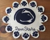 Penn State Wool Penny Rug