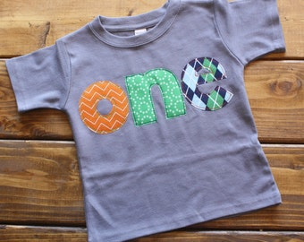 1st Birthday Shirt, Boy Birthday Outfit, One Birthday Shirt, Birthday Shirt, Birthday Boy Shirt, First Birthday Party, Made to Order