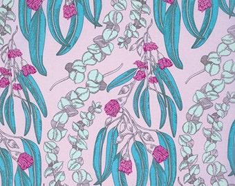 "PWAH074.JEWEL Pretty Potent Anna Maria Horner Eucalyptus Jewel Quilting 18"" BTHY Rowan Westminster Half Yard 18"" Quilt Fabric HY Floral"