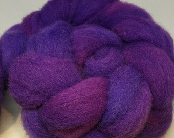 Crab Nebula - 4oz - 114g - Carded Texel Roving